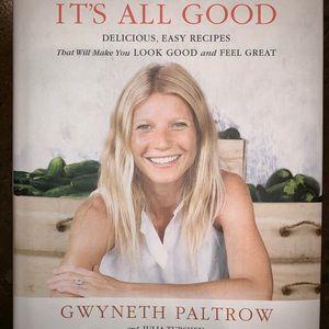 It's All Good Gwyneth Paltrow Cookbook